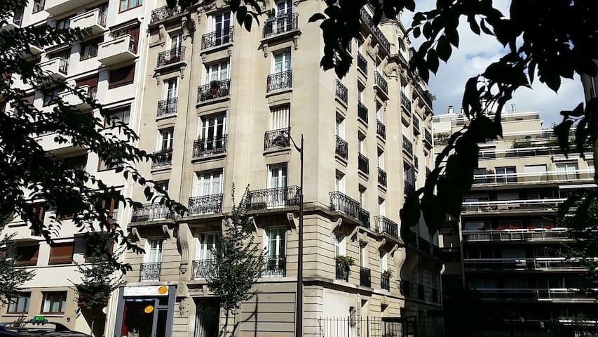 Typical Haussmannien Parisian flat