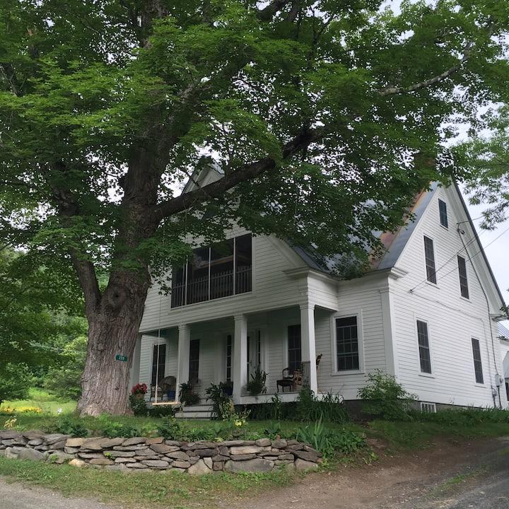 Quiet Vermont Farmhouse