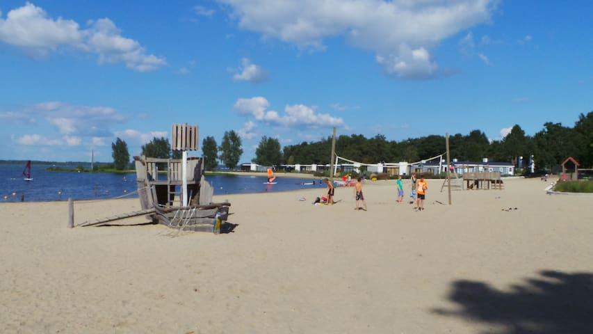 The beach of bad Hoophuizen