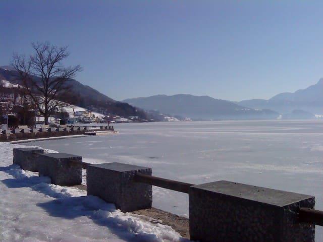 Seepromenade in der Winteridylle
