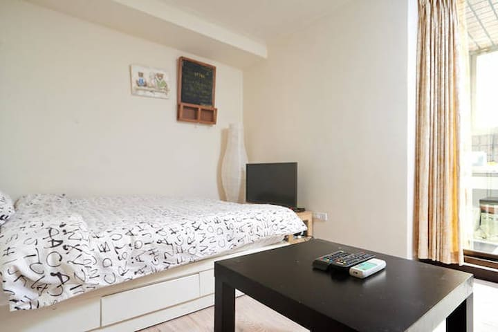 Private suite 3min/subway free wifi - 中和區 - Huis