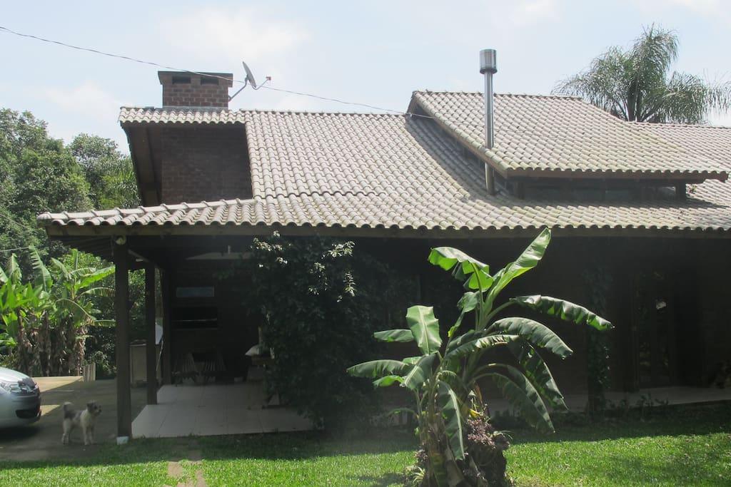Vista da casa