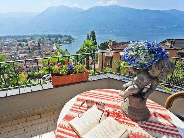 Apartment 35 m² Double Room Modern in Ascona for 2 persons - Ascona - Appartement
