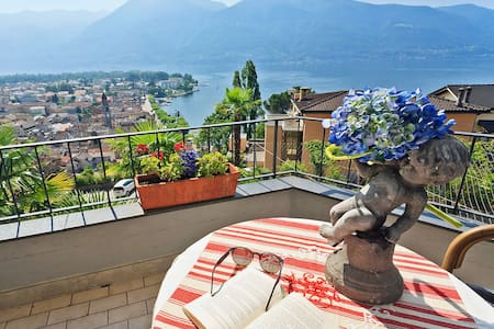 Apartment 35 m² Double Room Modern in Ascona for 2 persons - 阿斯科纳(Ascona) - 公寓