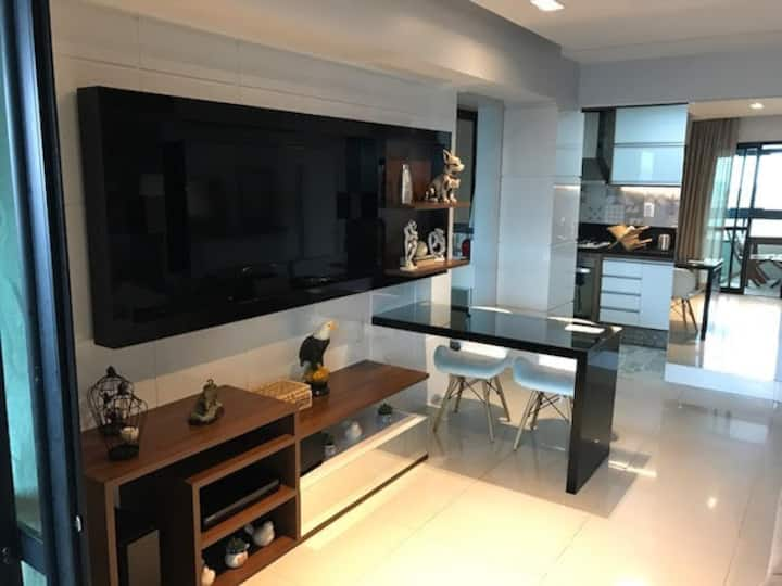 Apartamento de luxo - Cond. Manhattan - Salvador