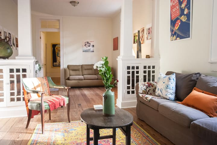 Cozy apartment in beautiful Algiers Point - New Orleans - Leilighet