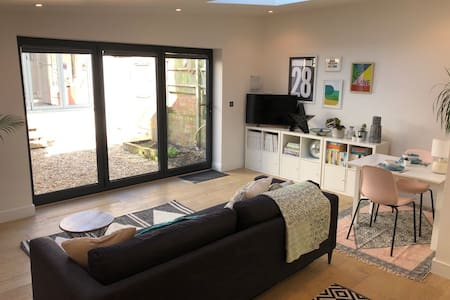 Studio 28, a stylish, sunny, studio apartment