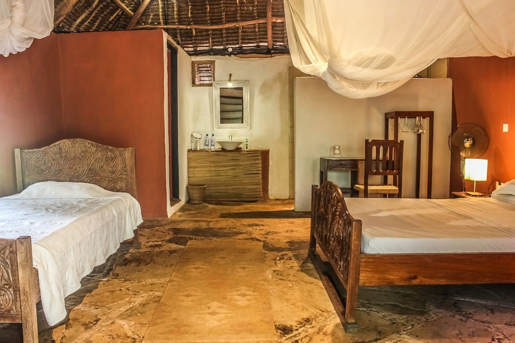 Get a comfortable nights rest in our cozy banda.