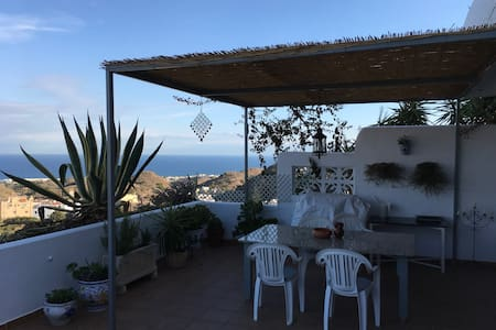 Apartment with a great terrace and views - Mojácar