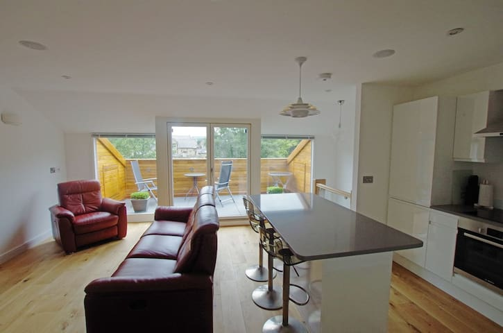 Luxury 3 bed apt - fabulous views - Hebden Bridge - Leilighet