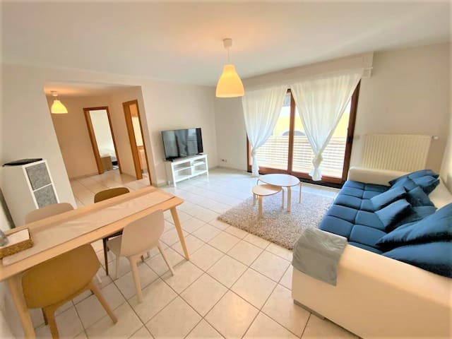 Comfortable 1 bedroom apartment 62m² near Lux-City