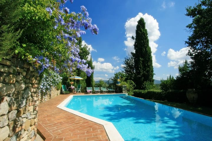 Cozy cottage with private pool near San Gimignano - Casole d'Elsa - Haus