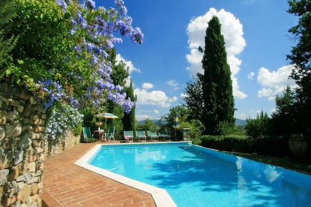 Cozy cottage with private pool near San Gimignano - Casole d'Elsa - 独立屋