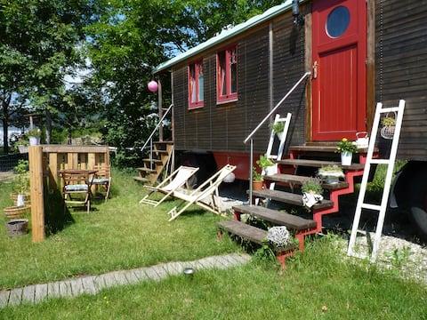 Urlaub mit dem besonderen Extra im Tiny House