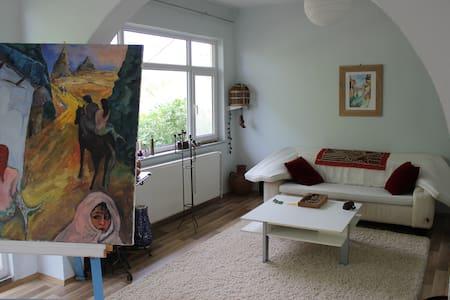 Landhaus Etage nahe Kyzikos 3 Zi - Erdek - บ้าน