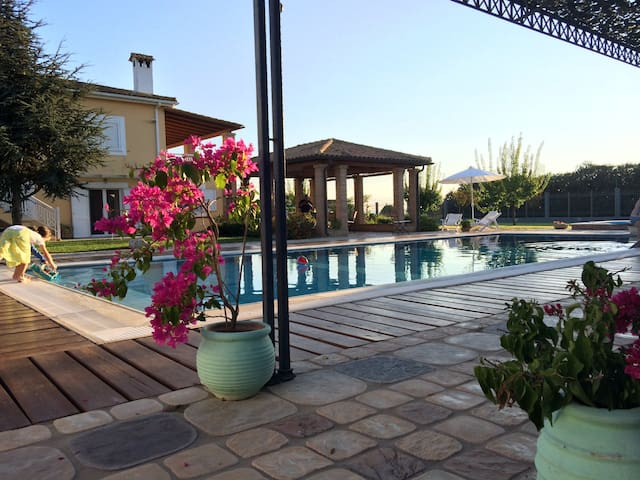 Peloponnese Country Luxury Villa - Lechaina - Willa
