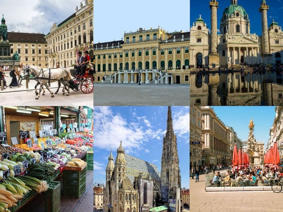 Vienna's tourism attractions - close to everything