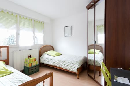 Bedroom in a nice house