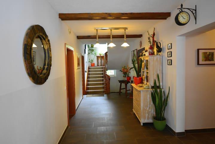 Eingangsbereicht in unserem Haus
