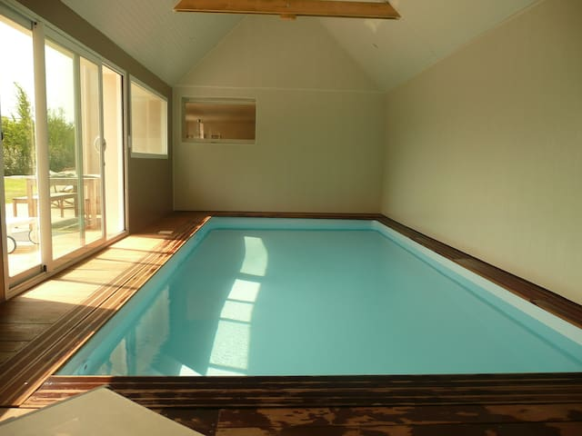 Charming House with indoor pool - Saint-Cast-le-Guildo - Dom