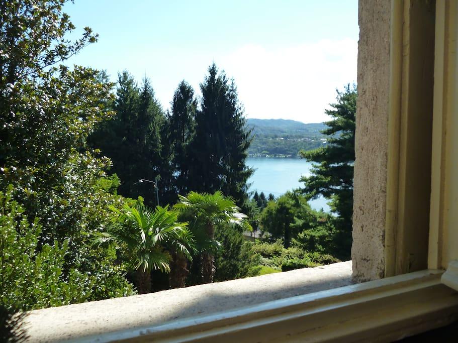 Vista da una delle finestre dell'appartamento