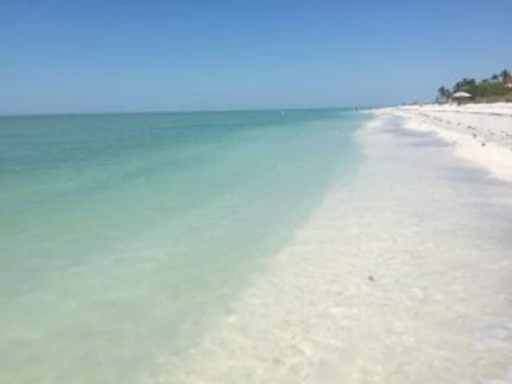 Decompress on beautiful Sanibel Island.