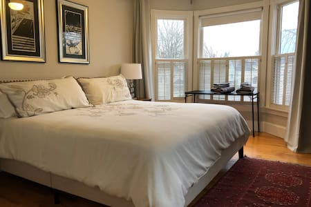Burleigh street #2- King Bedroom shared bath
