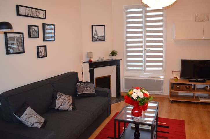 Lovely apartment close to INSEAD - Fontainebleau - Apartamento