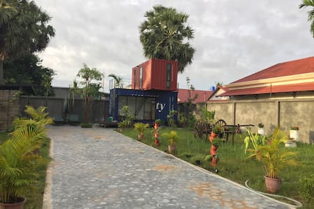Charming Siem Reap Container House - Siem Reap  - Casa