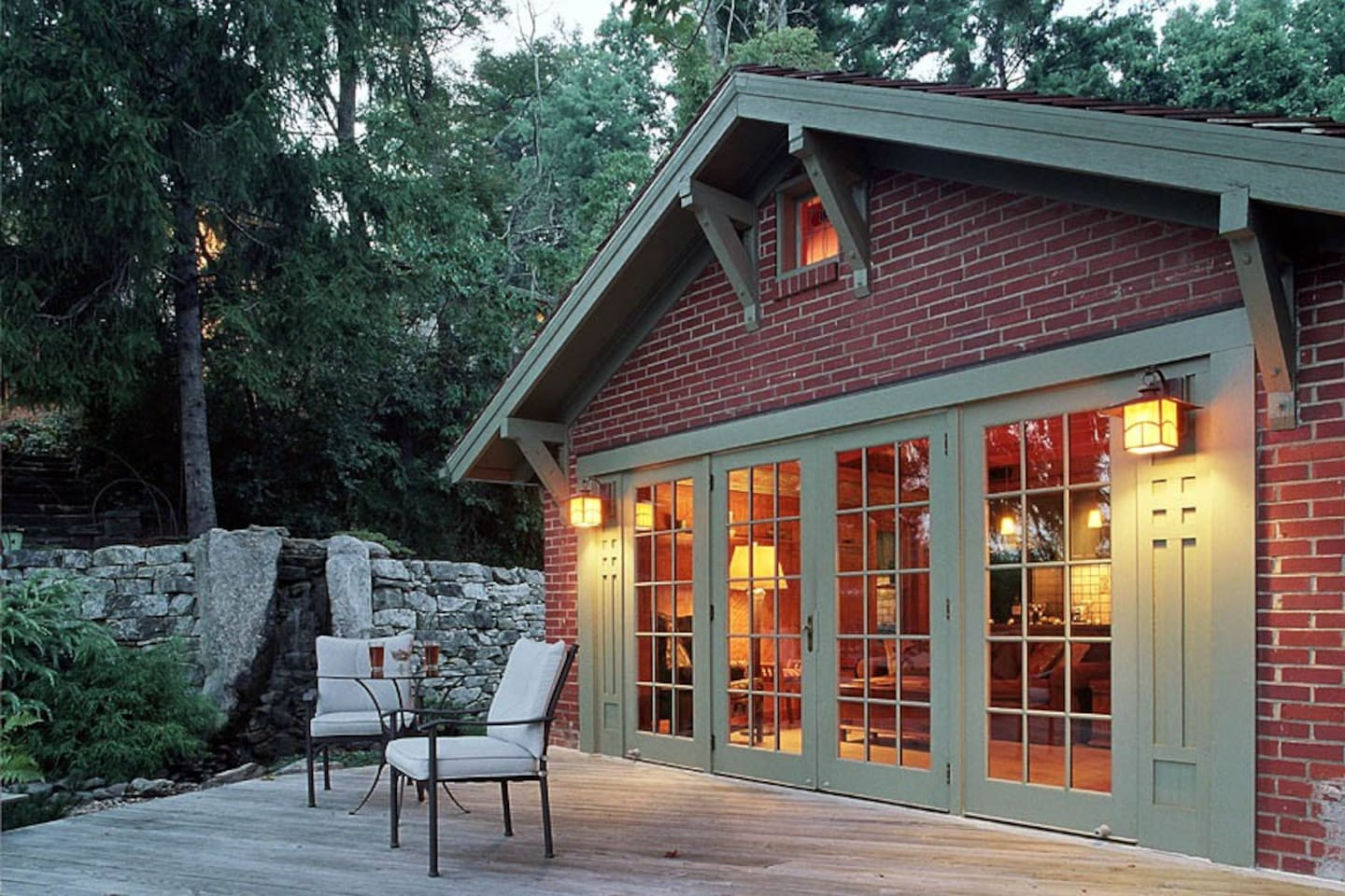 The Cottage is completely private -