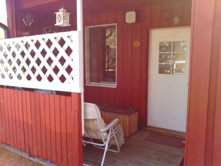 Saunallinen rtyksiö/terraced studio apartmant