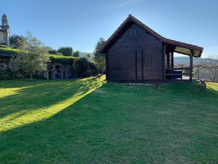 Cabaña Nuestra Luz, San Xurxo de Sacos, Pontevedra