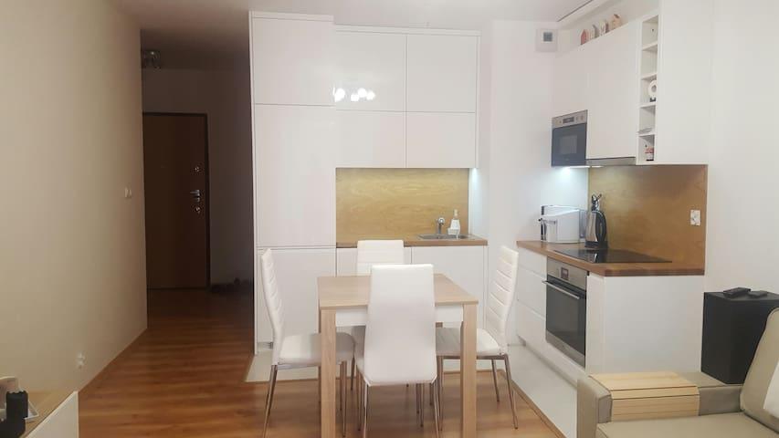 Przytulne, 2 pokojowe mieszkanie - Cracóvia - Apartamento