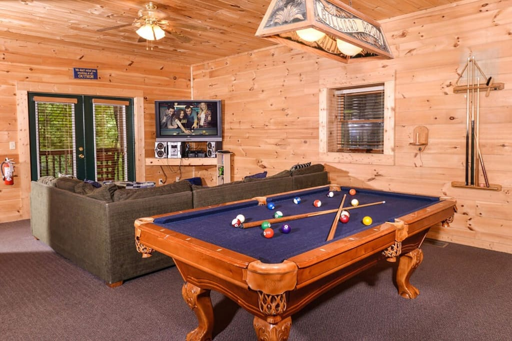 Challenge your family  and friends to a little game of pool and let the kids enjoy the PlayStation 4.