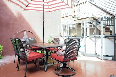 In the heart of quaint Fells Point.