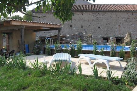 L'Oustal del vailets, piscine,Albi - Valderiès - Дом