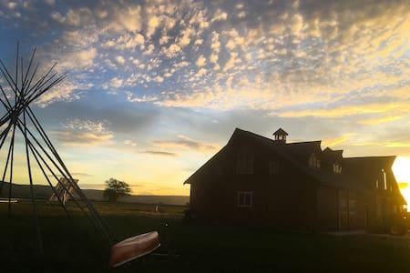 Ellensburg WA. Coyote Creek Ranch. - Ellensburg - Cabanya