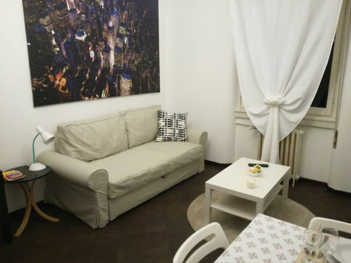Nice 2-room flat 15 minutes from city center