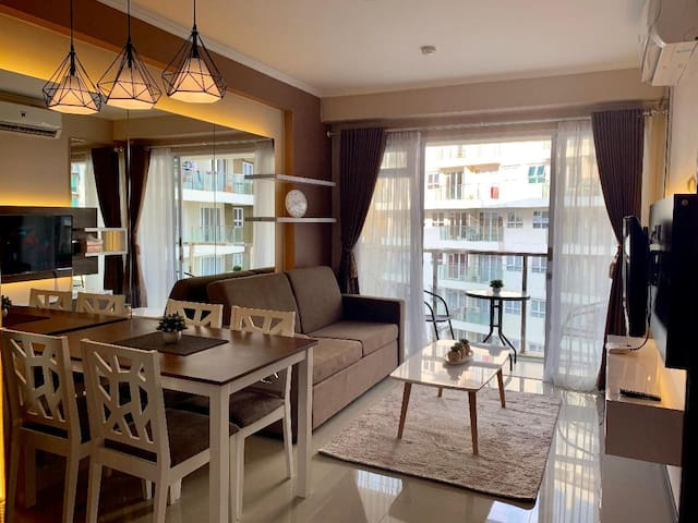 Luxury Gateway PasteurBest View 2 BR (FREE WIFI)
