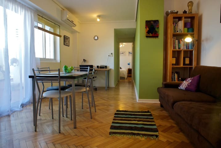 Local flavor + huge terrace (1 br)  - Buenos Aires - Apartment