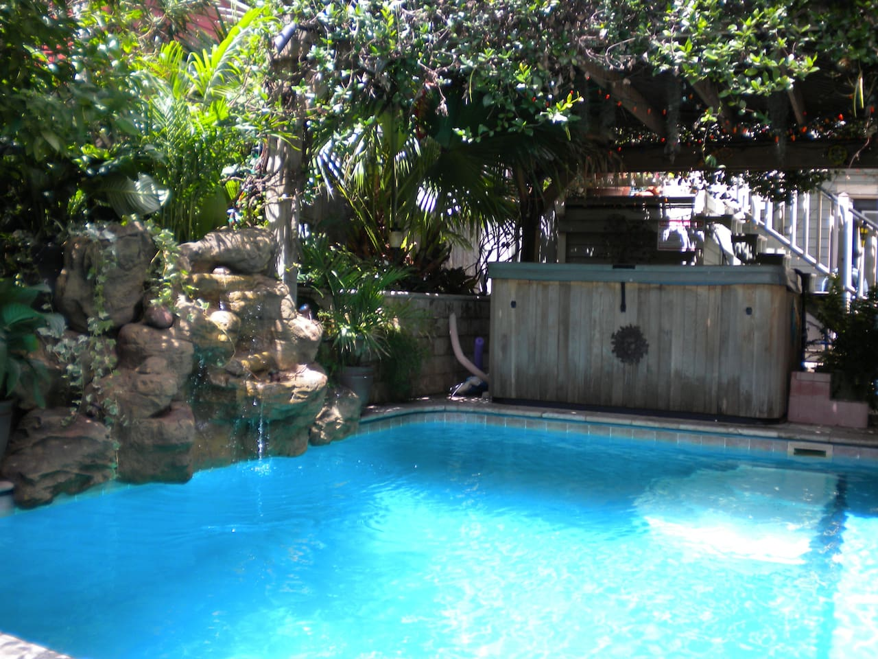 uptown tropical oasis pool and spa best magazine villas for