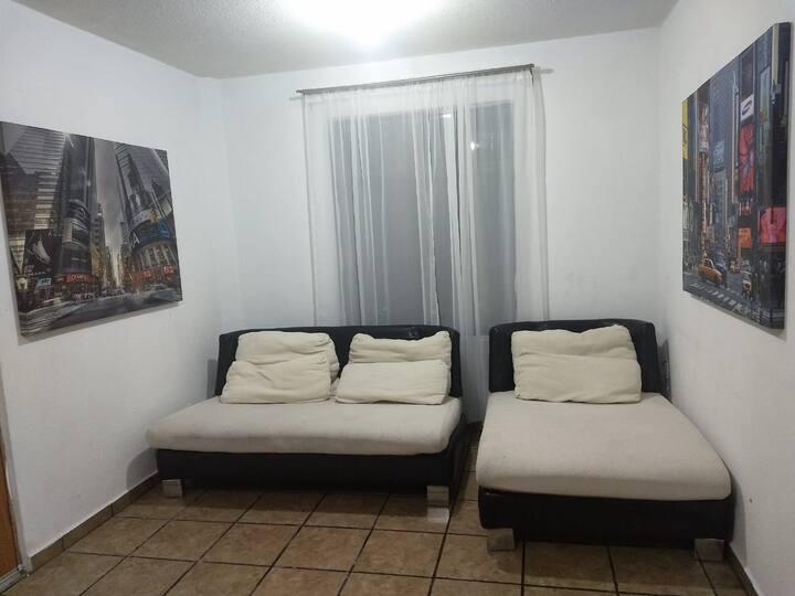 Bonito departamento, cómodo, fresco y bien ubicado
