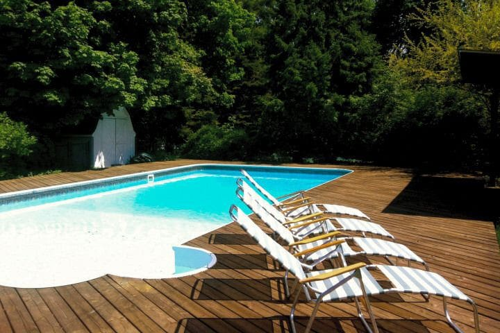 Heated pool & steps from the lake!  - Michiana - Dom