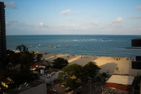 Apt. Studio with a view (130 feet from Beach) - Jaboatão dos Guararapes