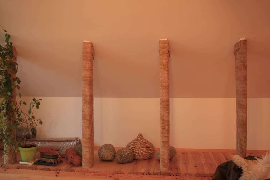 Our wooden mansarda