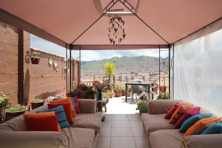 SAYA WASI -BEST VIEW OF CUSCO - D - Cusco