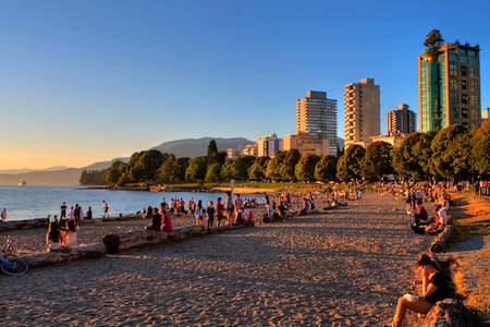 Cute Studio Apartment close to English Bay - Vancouver - Wohnung
