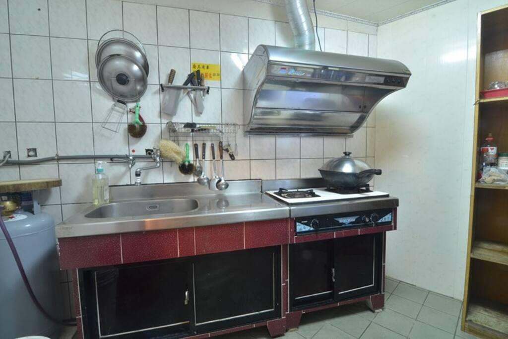 我們有獨立的廚房給您烹調