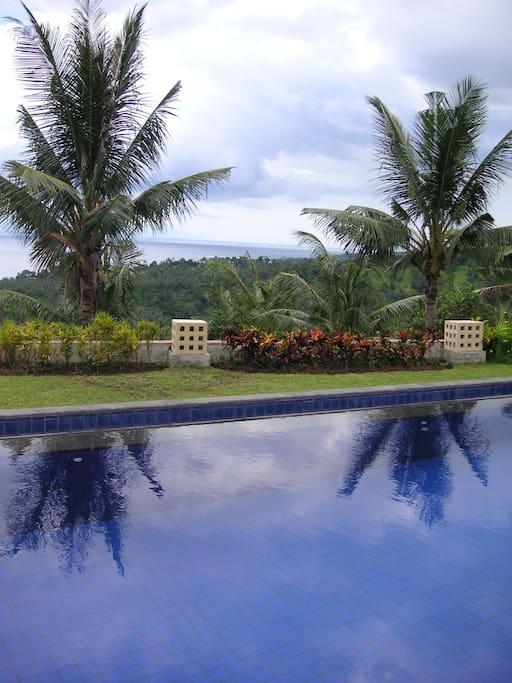 View from the 2bedroom villa - Matahari Villa