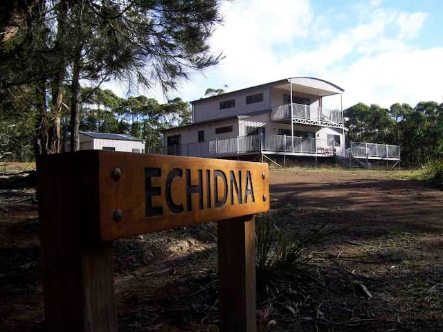 'Echidna' on Bruny Island - Barnes Bay, North Bruny Island - Casa